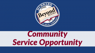 community service opportunity