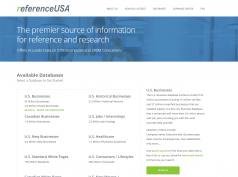 reference usa main page