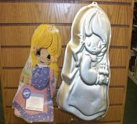 precious moments doll cake pan