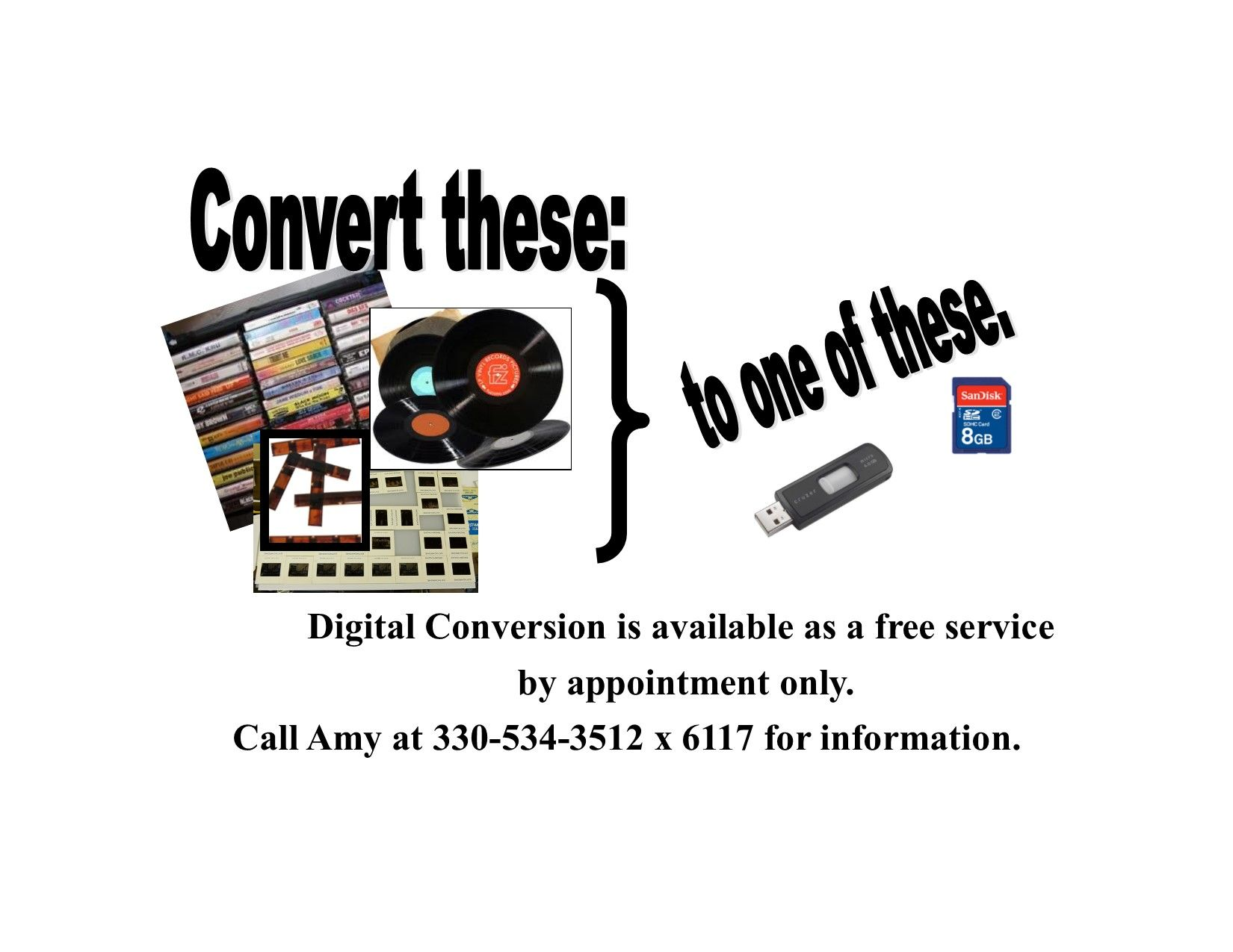 onvert records to mp3 graphic